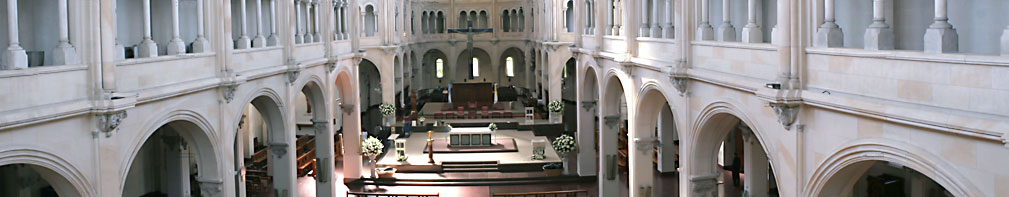 Foto panoróramica de la Parroquia San Benito