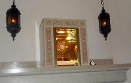 Fotos de Ceremonia de Apertura la Capilla del Santísimo Sacramento