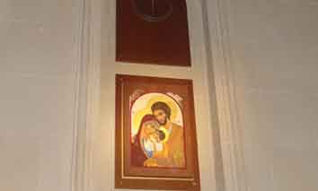Entronización del Icono de la Sagrada Familia [28/12/2014]