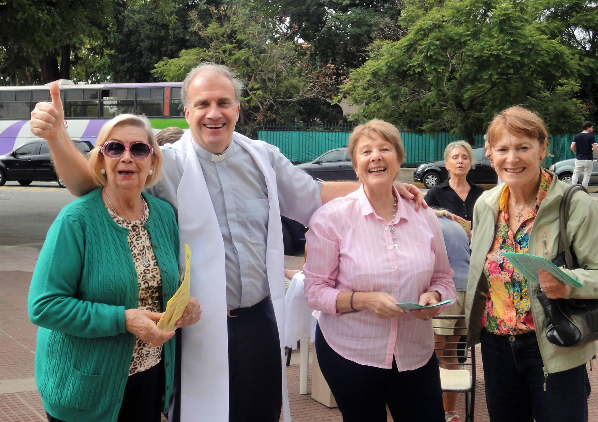 Encuentro de familias en el Seminario de Buenos Aires