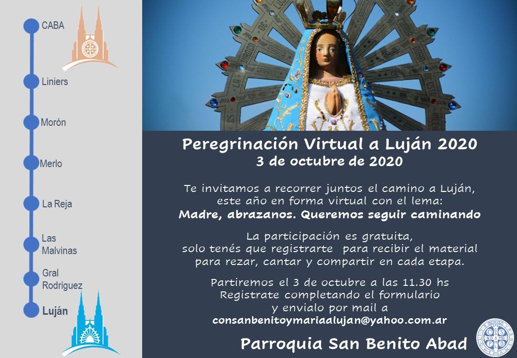 Peregrinación Virtual a Lujan 2020