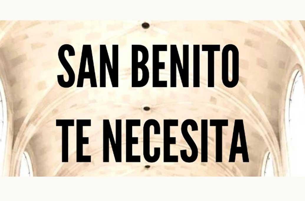 San Benito te necesita